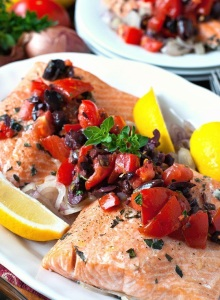 salmon-tomatoes-olives