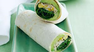 Tuna Sweet Corn Wrap